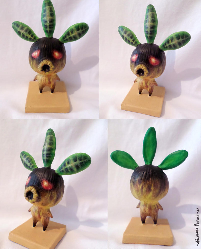 Deku Statue From Zelda Majora's Mask By Yuisama On DeviantArt