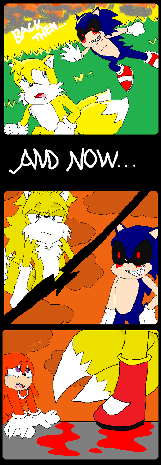 Sonic and tails love story