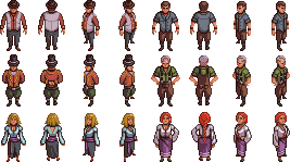 RPG Townsfolk/Villagers/NPCs