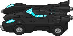 Bat Mobile sprite by CypressDahlia