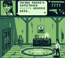 Gameboy Survival Horror Mockup by CypressDahlia