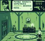 Gameboy Survival Horror Mockup