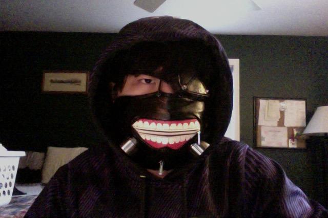 Kaneki Ken Cosplay Mask by EpixOtaku