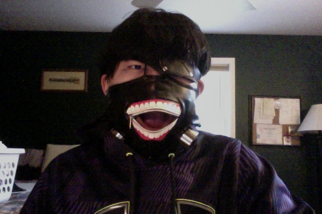 Kaneki Ken Cosplay Mask 2 by EpixOtaku