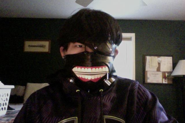 Kaneki Ken Cosplay Mask 3 by EpixOtaku
