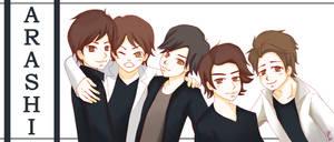 Arashi owns my soul