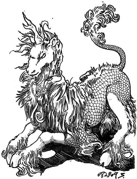 Qilin by WolfOfSahara Qilin