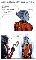 How Shepard died for nothing by WolfOfSahara