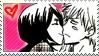 Ichigo+Rukia stamp by Irchiel
