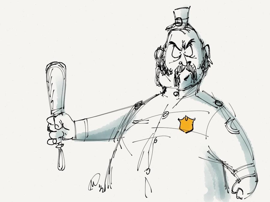 Paper53 - Deputy Stubbs by MatsuRD