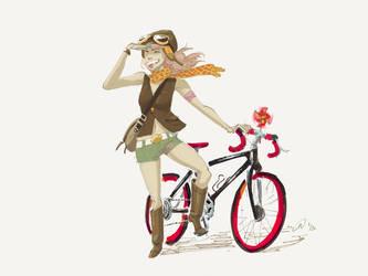 Pink Rider by MatsuRD