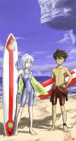 Eureka 7 - Remember Nirvash v2 by MatsuRD