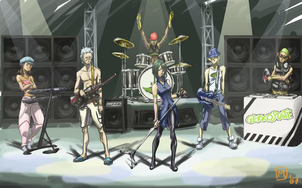 Eureka Seven Gekkostate Eureka 7 Gekkostate Band by