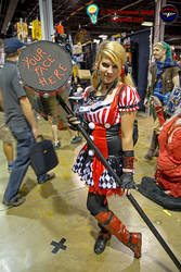 Harley Quinn Comic con Chicago 2015
