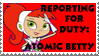 Atomic Betty - Character Stamp by LoudNoises