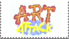 Art Attack Stamp by LoudNoises