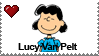 Lucy Van Pelt Stamp by LoudNoises
