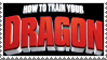 How to Train Your Dragon Stamp by LoudNoises