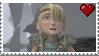 Astrid Hofferson Stamp by LoudNoises