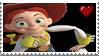 Jessie Cowgirl Stamp