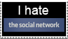 Anti-The Social Network Stamp by LoudNoises