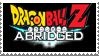 Dragonball Z Abridged Stamp by LoudNoises