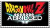 Dragonball Z Abridged Stamp by LoudNoises