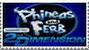 PnF Across the 2nd Dimension Stamp by LoudNoises
