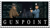 Gunpoint Stamp by LoudNoises