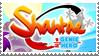 Shantae: Half-Genie Hero Stamp by LoudNoises