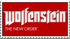 Wolfenstein: The New Order Stamp by LoudNoises