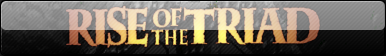 Rise of the Triad: Dark War Fan Button