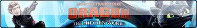 How to Train Your Dragon 3 Fan Button