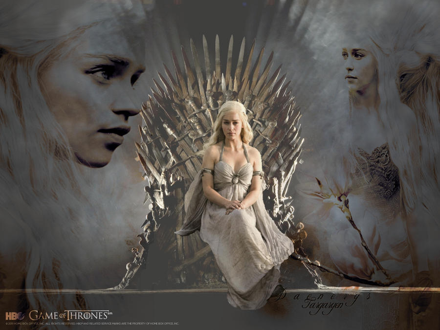 Daenerys Targaryen Game Of Thrones Wallpaper2 By DarkElektra