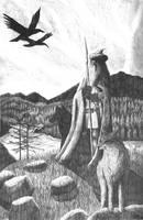 Odin by Sigrulfr
