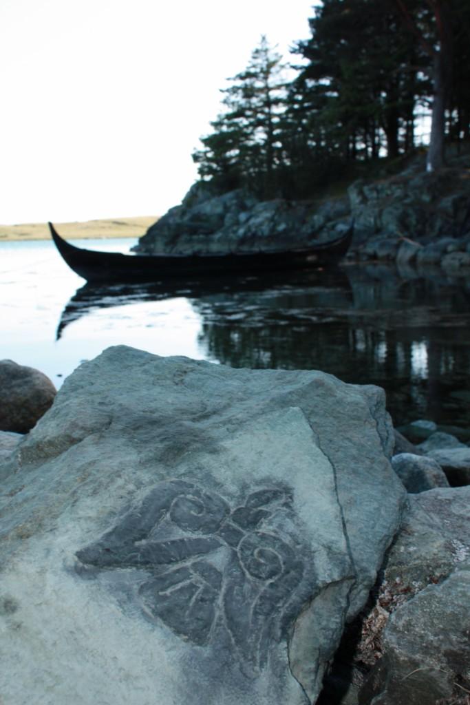 Raven Runestone by Sigrulfr