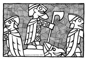 Voluspa . The Creation of the Dwarfs by Sigrulfr