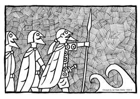 Voluspa - Odin, honur and Lodur by Sigrulfr