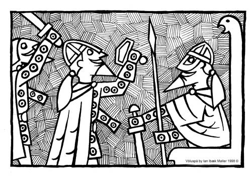 Voluspa - The Aesirs Sacrifice