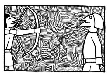 Voluspa - Hodur the Blind by Sigrulfr