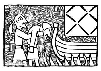 Voluspa - Baldurs Burial by Sigrulfr