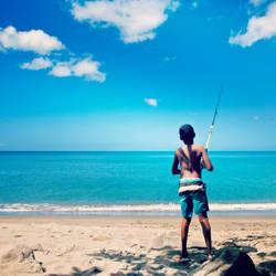 Fishing Sensei by Jayleloobee