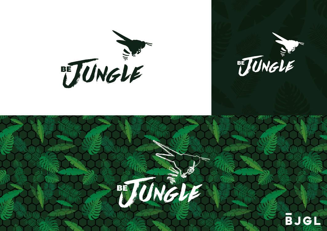 Logo Be Jungle by Jayleloobee