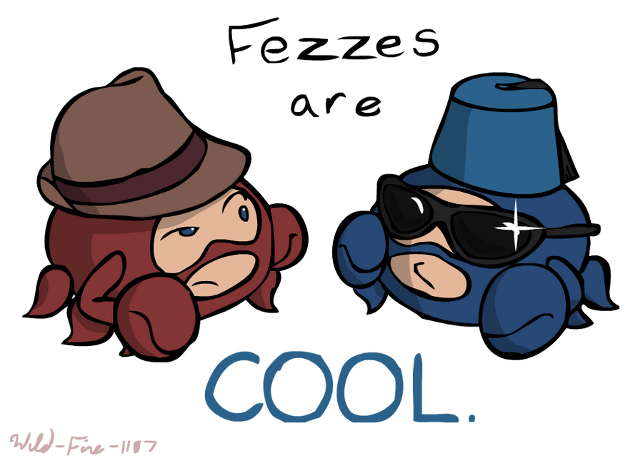 Tf2 Spycrab Fezzes are cool by wild fire