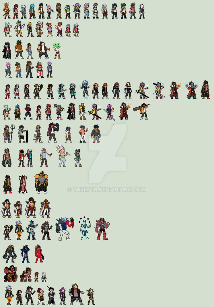 SpiritWave Characters