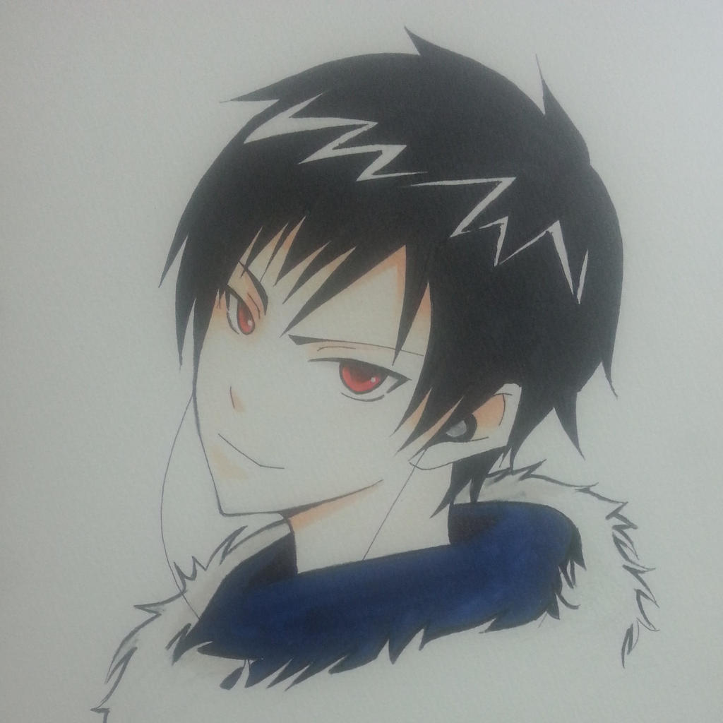 Orihara Izaya from DRRR!! by thumbelin0811