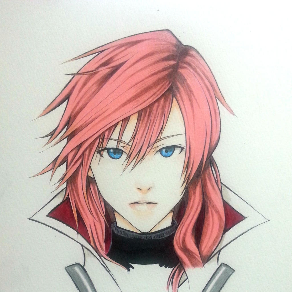Lightning Farron from Final Fantasy 13 by thumbelin0811