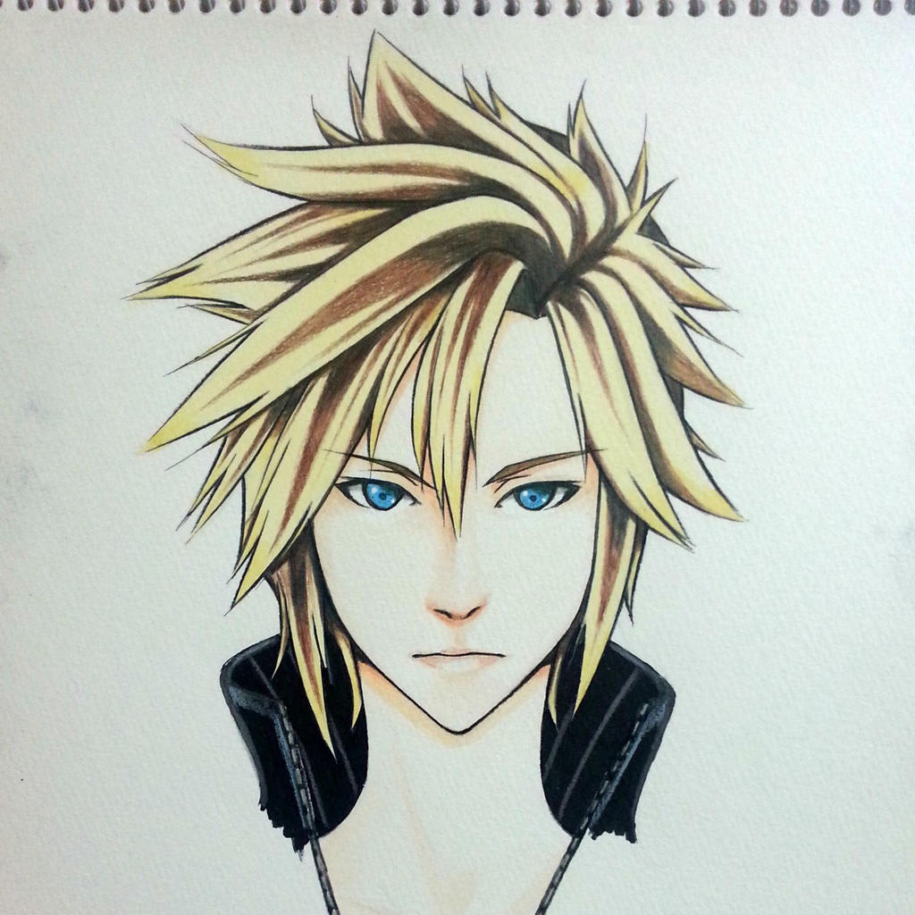 Cloud Strife Final Fantasy VII Advent Children by thumbelin0811