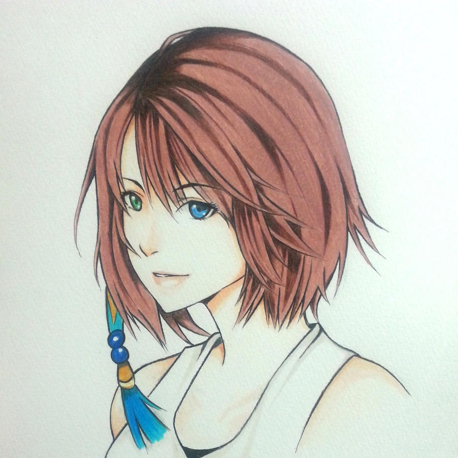 Yuna Final Fantasy X by thumbelin0811