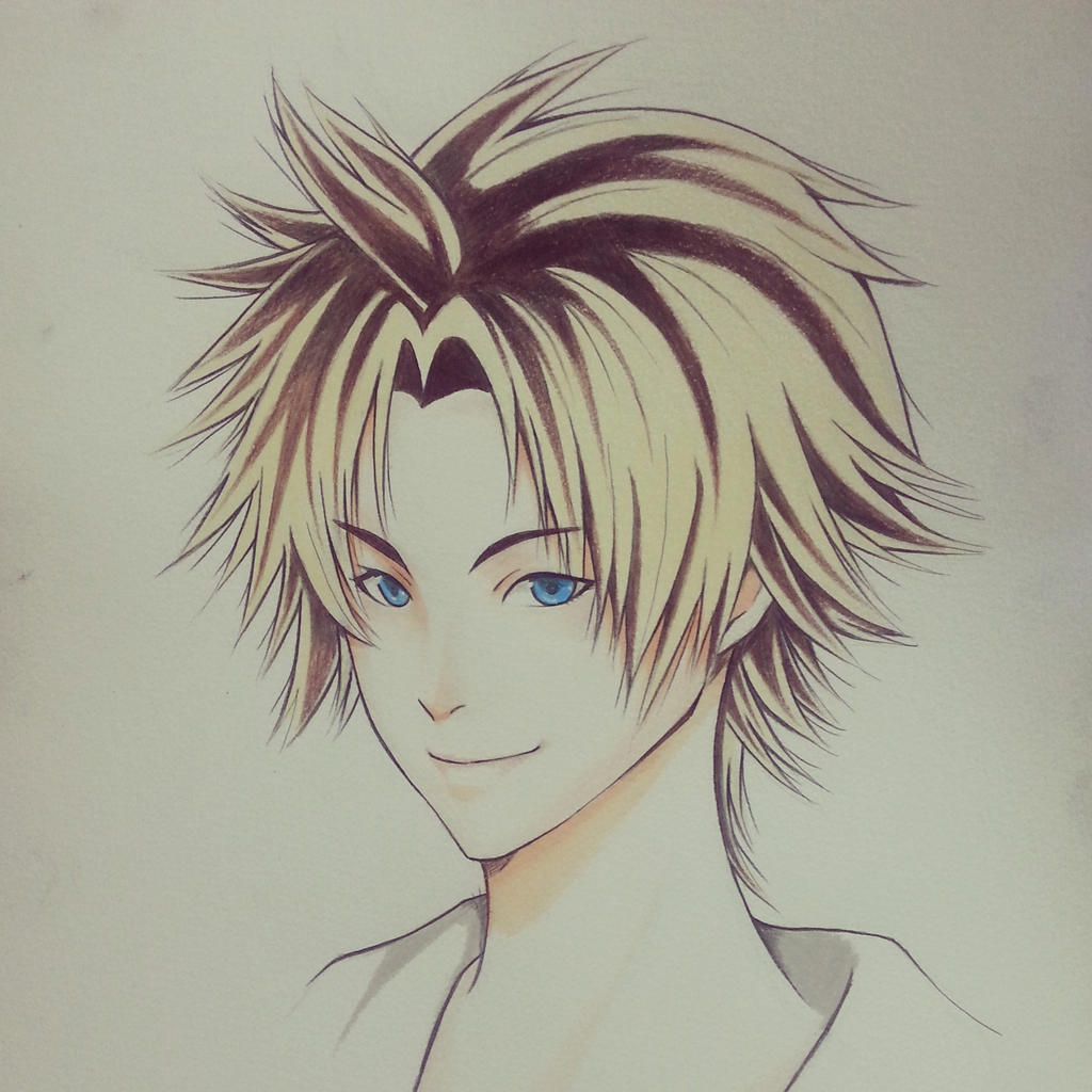 Tidus Final Fantasy X by thumbelin0811
